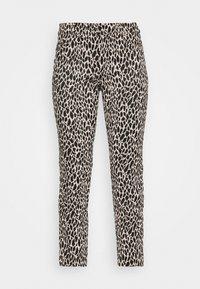 MODERN SLOAN ANIMAL - Trousers - black