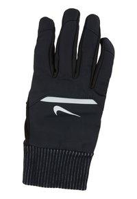 Nike Performance - MENS SHIELD RUNNING GLOVES - Fingervantar - black/wolf grey/silver - 4