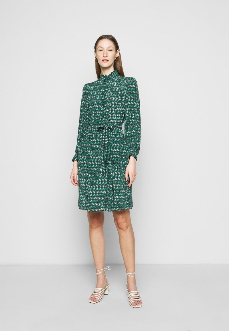 WEEKEND MaxMara - VERBAS - Denní šaty - dark green