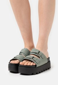 4th & Reckless - SORA - Heeled mules - teal - 0