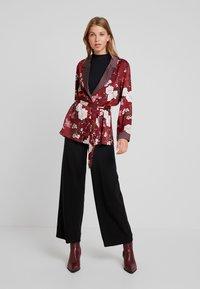 ONLY - ONLELAINE LOOSE - Short coat - merlot - 1
