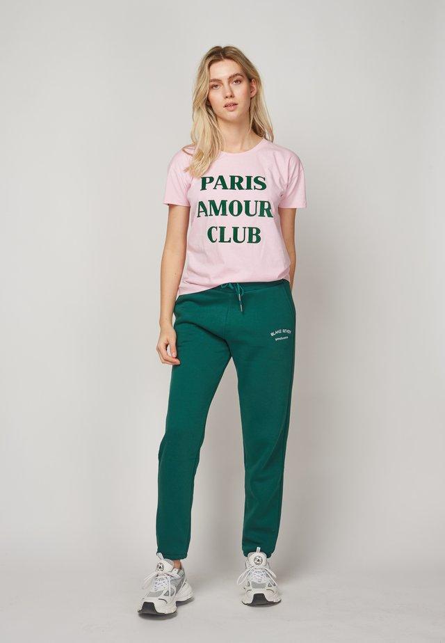 PARIS AMOUR CLUB - T-shirt print - pink