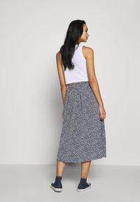 Monki - SIGRID SKIRT - A-line skirt - blue dark - 2