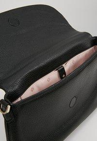 kate spade new york - POLLY LARGE FLAP CROSSBODY - Across body bag - black - 4