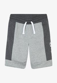 Nike Sportswear - AIR  - Tracksuit bottoms - charcoal heathr/dark grey heather/white - 2