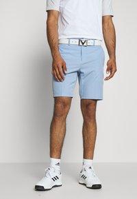 Cross Sportswear - BYRON SHORTS SOLID - Sportovní kraťasy - forever blue - 0