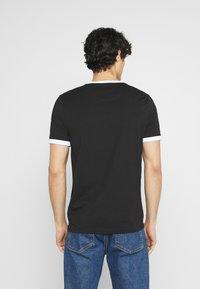 Farah - GROVES RINGER TEE - Basic T-shirt - deep black - 2