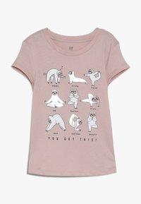 GAP - GIRL - Print T-shirt - pink standard - 0
