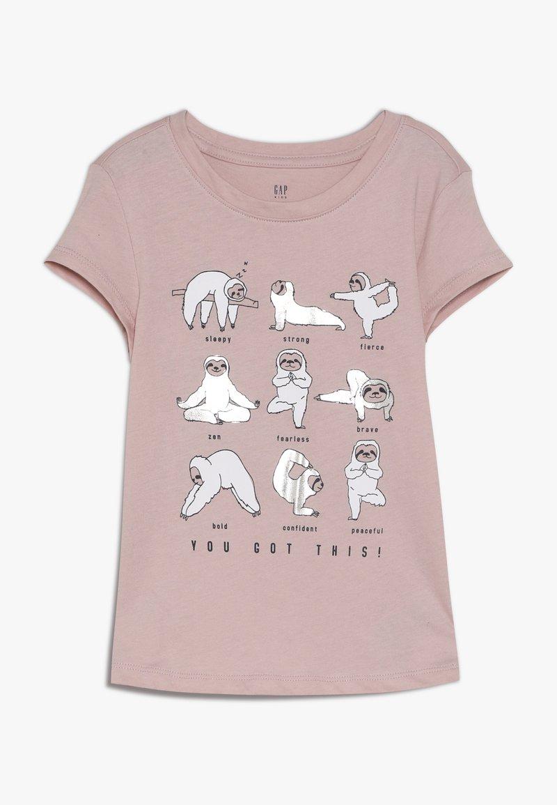 GAP - GIRL - Print T-shirt - pink standard