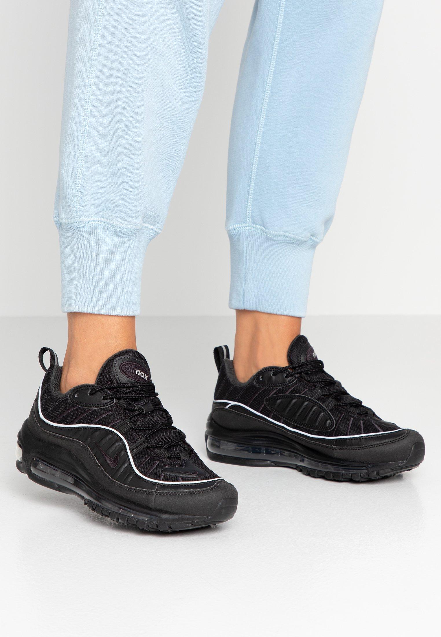 cooperar Será pesado  Nike Sportswear AIR MAX 98 - Trainers - black/off noir/black - Zalando.de