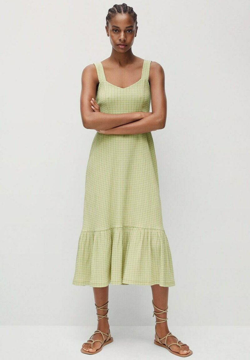Mango - Day dress - groen