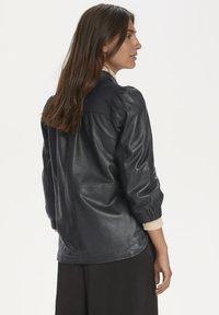 Part Two - FREYJAPW - Button-down blouse - black - 3