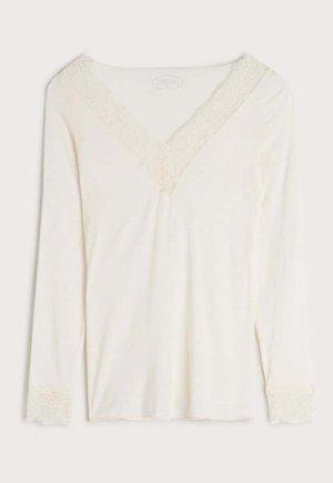 Pyjama top - vaniglia