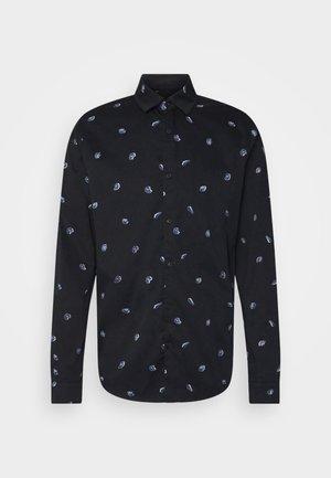 REGULAR FIT CLASSIC ALL OVER PRINTED - Shirt - dark blue