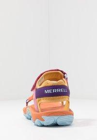 Merrell - KAHUNA - Tursandaler - apricot orange - 3