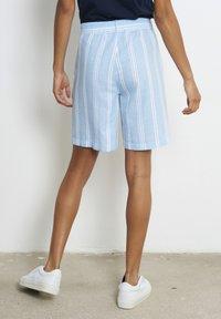 recolution - Shorts - dusk blue / white - 2