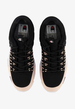 LOW CUT LANDER XTRM - Sznurowane obuwie sportowe - black
