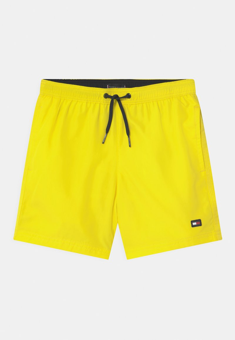 Tommy Hilfiger - MEDIUM DRAWSTRING - Swimming shorts - neon yellow