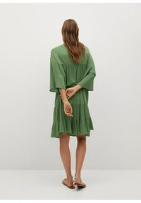 Mango - BAMBU-H - Sukienka letnia - green - 2