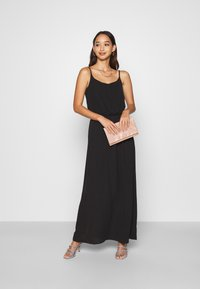 ONLY - ONLNOVA DRESS SOLID - Maxi šaty - black - 1