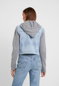 Hollister Co. - TWOFER JACKET - Denim jacket - blue denim - 2