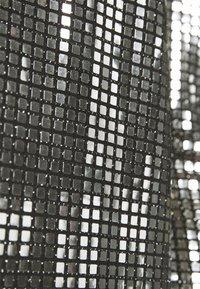 Vero Moda - VMCHARLI SHORT SEQUINS DRESS - Cocktail dress / Party dress - black/silver - 6