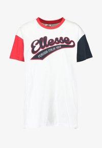 Ellesse - DAKOTA - Print T-shirt - white - 3