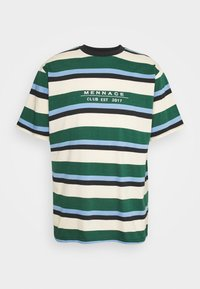 Mennace - CLUB HORIZONTAL STRIPE UNISEX - Print T-shirt - multi - 4