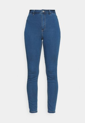 VICE HIGHWAISTEDWITH BELT LOOPS - Jeans Skinny Fit - blue
