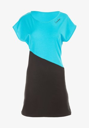 MCK003 ULTRA LIGHT - Sports dress - sky blue/schwarz
