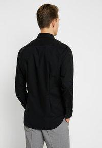 Seidensticker - SLIM FIT - Formal shirt - schwarz - 2