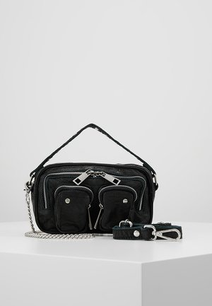 HELENA WASHED - Handtasche - black