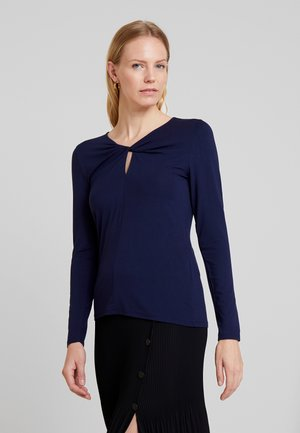Long sleeved top - maritime blue