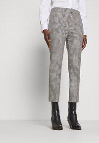 Lauren Ralph Lauren - SUITING PANT - Trousers - black/white - 0