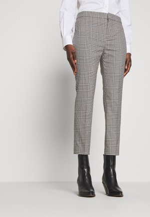 SUITING PANT - Trousers - black/white