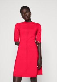HUGO - SHATHA - Jumper dress - bright red - 0