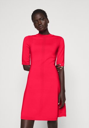 SHATHA - Robe pull - bright red