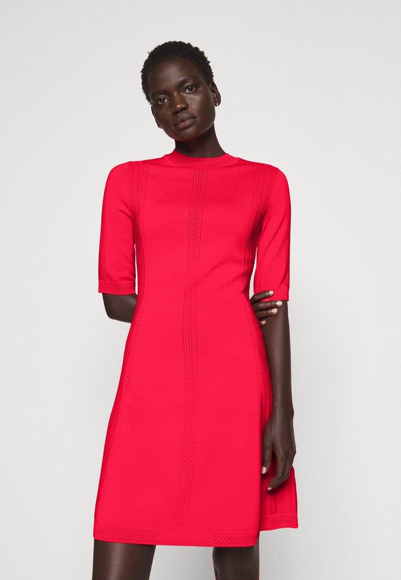 HUGO - SHATHA - Jumper dress - bright red