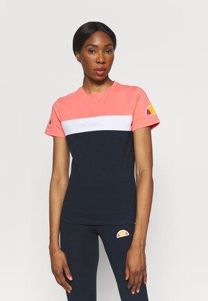 BECAERT TEE - T-shirts print - navy