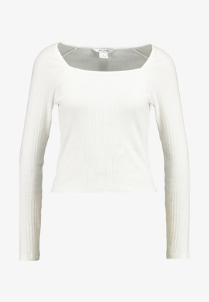 MALOU - Maglietta a manica lunga - white