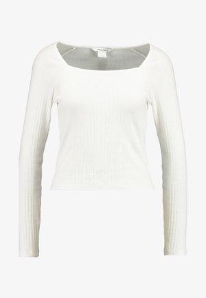 MALOU - Topper langermet - white