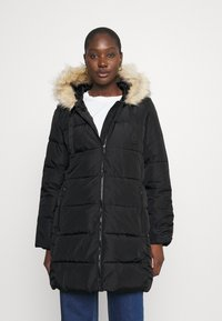 GAP - PUFFER - Winter coat - true black - 0
