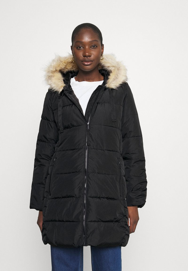 GAP - PUFFER - Winter coat - true black