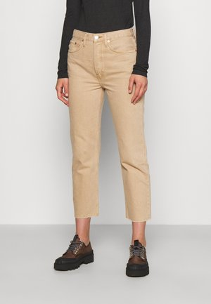 70S STOVE PIPE - Slim fit jeans - washed khaki