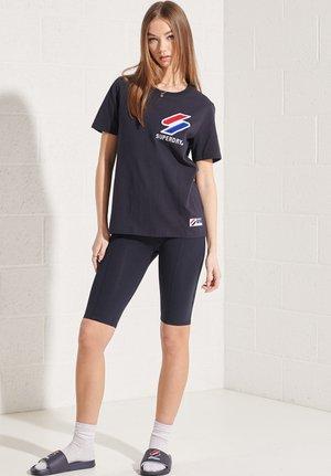 CHENILLE  - Print T-shirt - deep navy