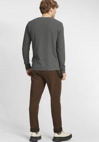 Solid - UPANO - Long sleeved top - castlerock - 2