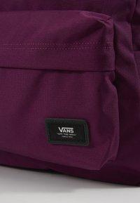 Vans - UA OLD SKOOL PLUS II BACKPACK - Rucksack - dark purple - 5
