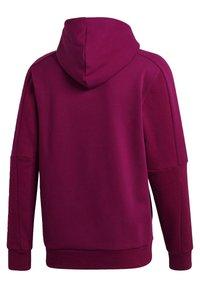 adidas Performance - MUST HAVES FULL-ZIP STADIUM HOODIE - Zip-up hoodie - purple - 8