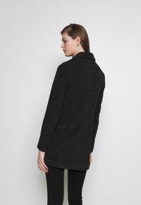 Vero Moda - Halflange jas - dark grey melange - 2
