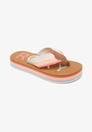 Chika Hi  - T-bar sandals - multi